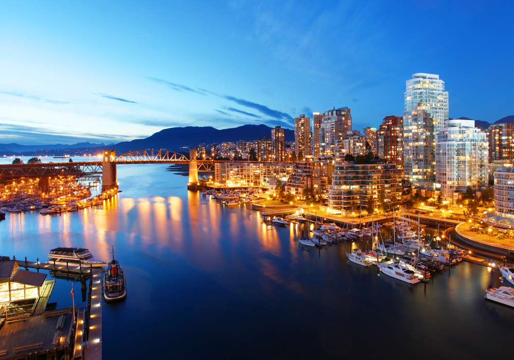 The city of Vancouver