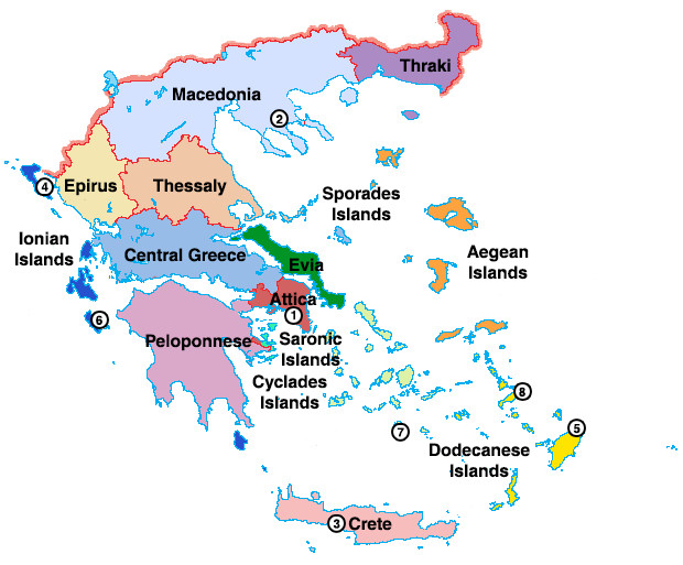 Island Of Crete Greece Map.Greece Uncovered For 2018 Travel Republic Ireland Blog