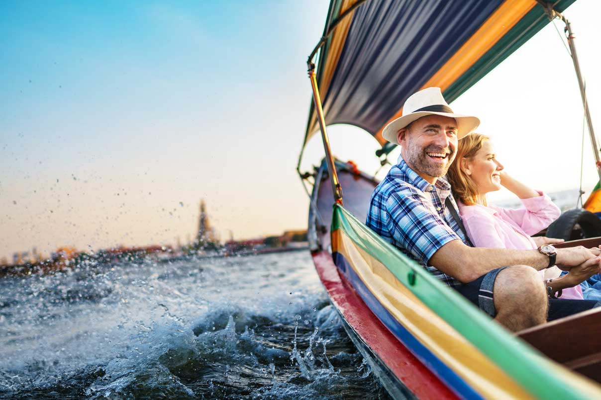 HOLIDAY IDEAS FOR COUPLES OVER 50