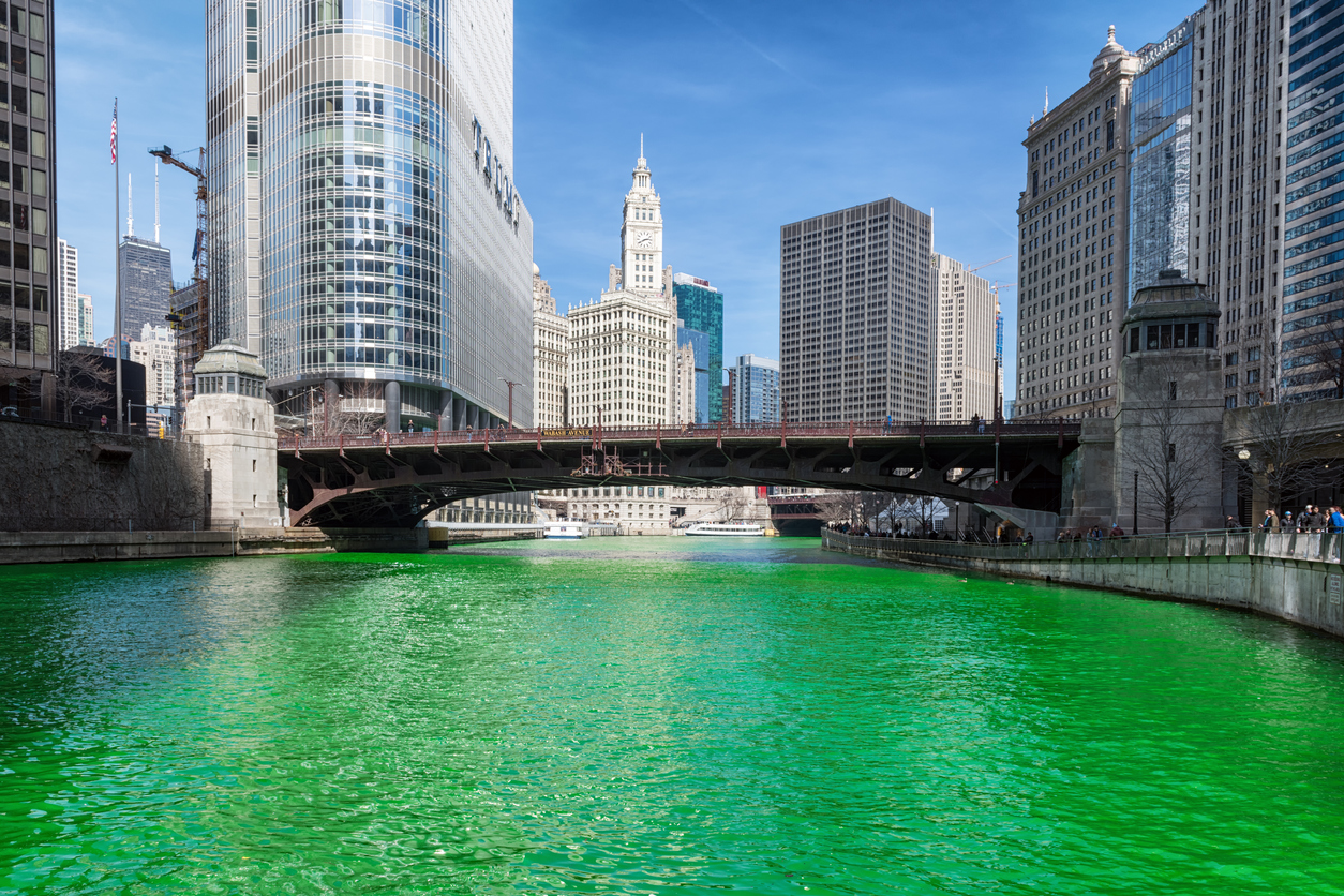 The World 'Goes Green' for St. Patrick's Day