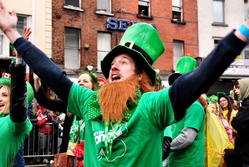 Sing Up for your County on St. Patrick's Day
